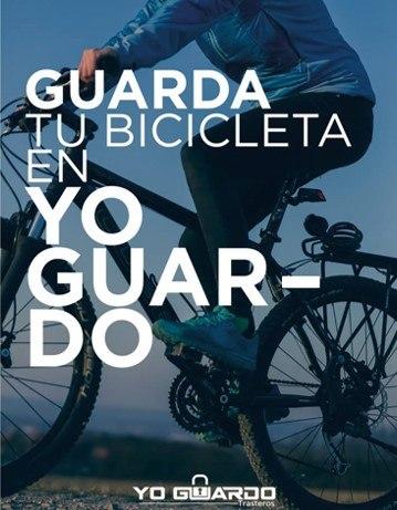 Guardar bici en trastero YoGuardo®