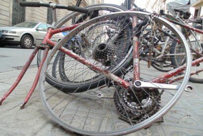 Prevenir robo de bicicletas y piezas - Guardar bici en trastero